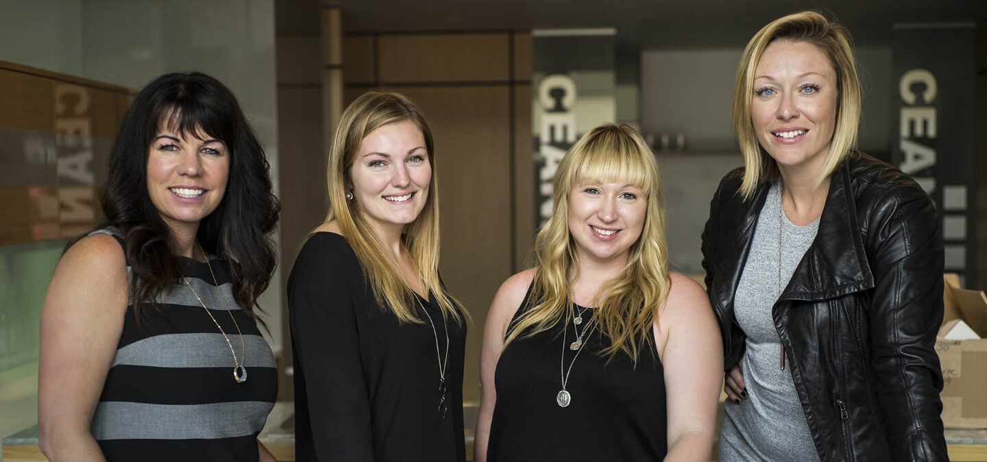 Spaciz Team - Left to right: Tracey Lamoureux, Carley Petillion, Emily Fisher, Madison Leslie